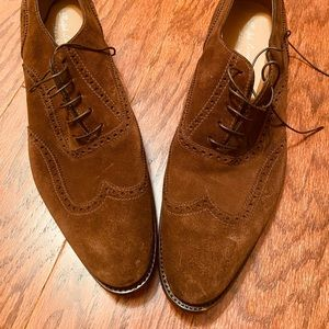 Men's Ralph Lauren wingtip shoes